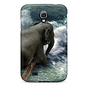 New MeSusges Super Strong Elephant In The Surf Tpu Case Cover For Galaxy S4