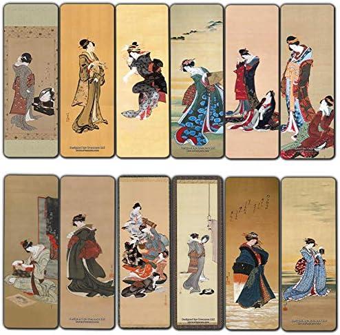 Creanoso Katsushika Hokusai Japanese Bookmarks product image