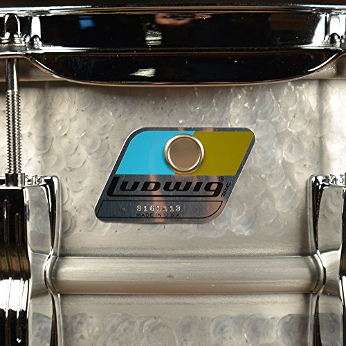 Ludwig LM405K 6.5X14 HAMMERED ALUMINUM ACROLITE SD 14 x 6.5 in. by Ludwig (Image #2)