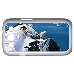 ski - Watercolor style - Case Cover For Samsung Galaxy S3 i9300 (White)
