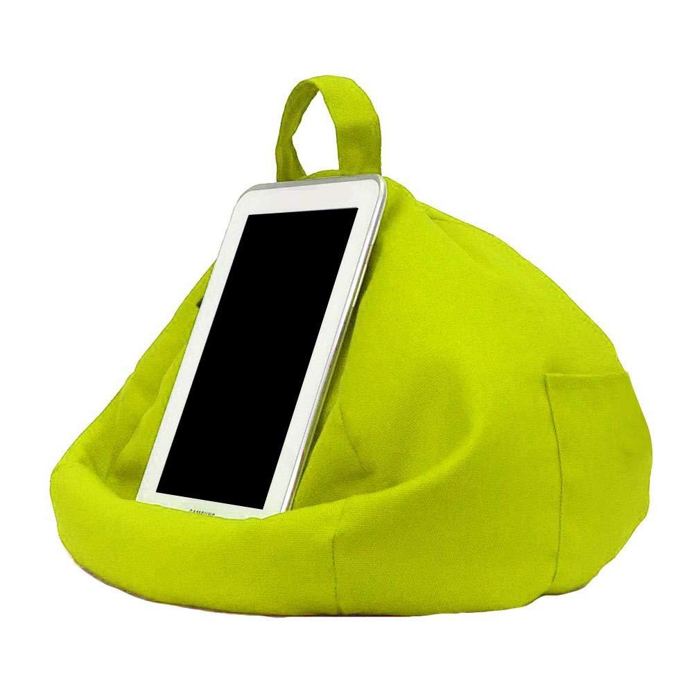 Youngsown Cuscino Tablet Cars Cuscinetto leggio per Tablet Cono Portatile Cuscino Tablet da Letto Lino