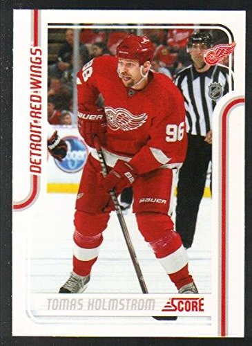 - 2011-12 Score Hockey Glossy Parallel #178 Tomas Holmstrom Detroit Red Wings