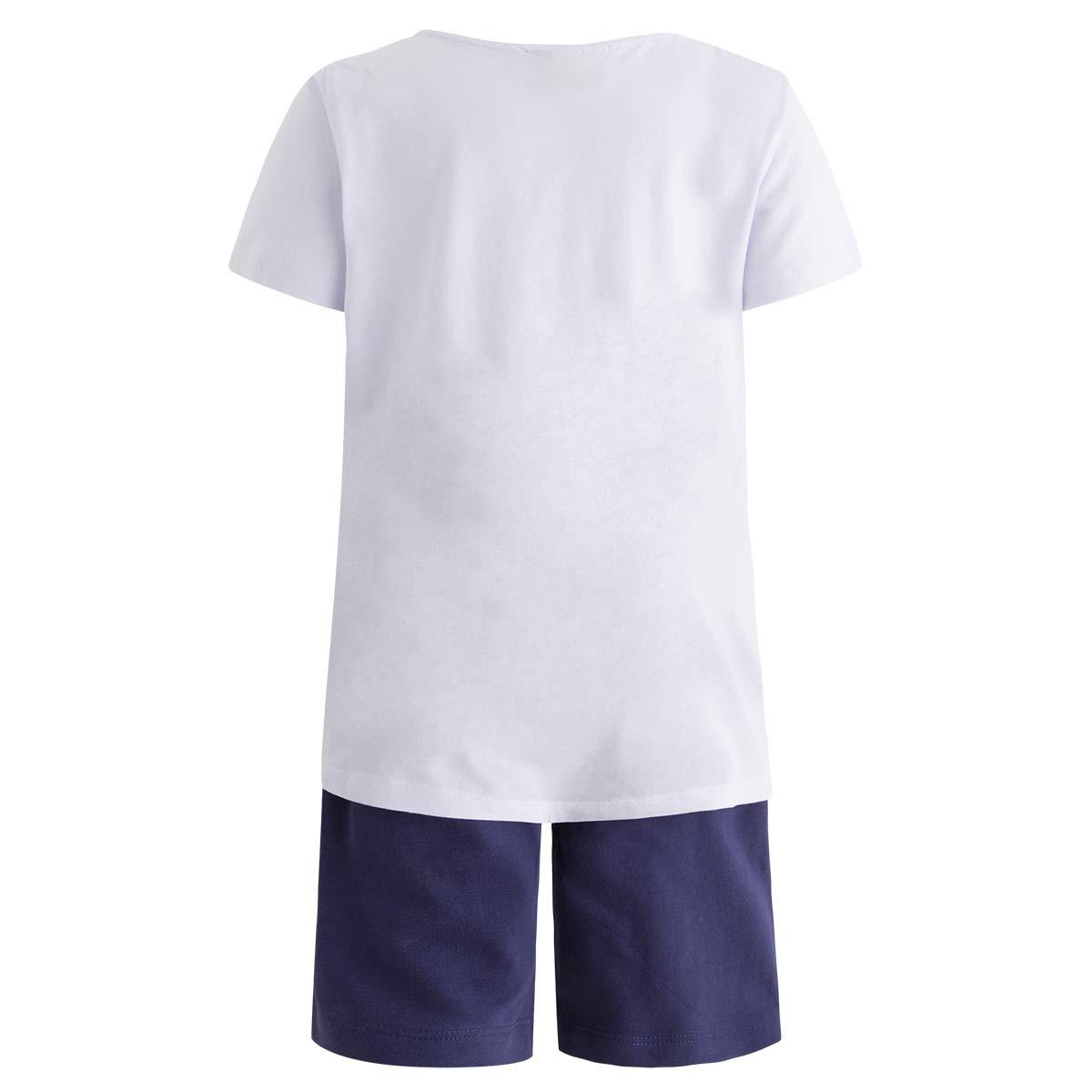 Tuc Tuc Camiseta Punto+Bermuda Felpa Ni/ño Happy Completino Bambino Azul 16 104//110 Taglia Produttore: 5A Blu