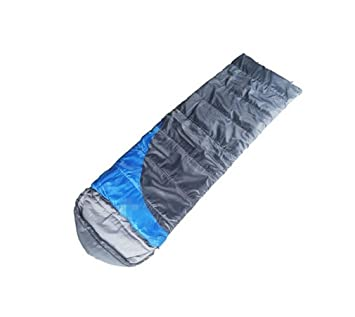Nola Sang Saco de dormir al aire libre caliente interior bolsa de dormir portátil Camping Senderismo Ultralight 4 temporada solo Fleabag Damp-prueba , blue: ...