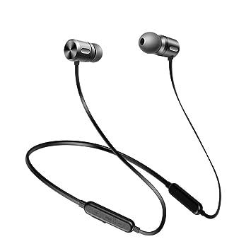 HJKLC Música magnética Bluetooth Auricular Deporte Correr ...