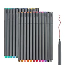 24 Color Fine Line Drawing Pens