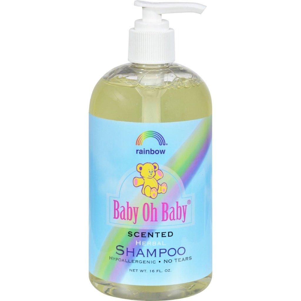 Rainbow Research Shampoo - Organic Herbal - Baby - Scented - 16 fl oz U-Nutra