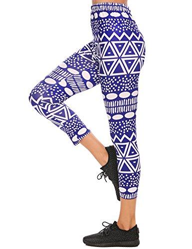 Zeagoo Relaxed-Fit Austyn Knit-Waist Cargo Capri Pant (Knit Capris Sporty)