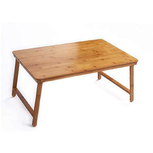 LHKJB Ordenador portátil Simple para Hacer una Mesa con Cama ...