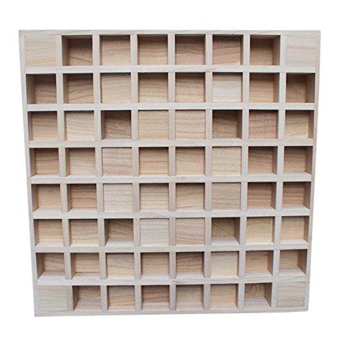 BXI Sound Diffuser - Acoustic Diffusion Panel - Wood - 2 Types - 24'' X 24'' X 2.8'' (2D QRD)