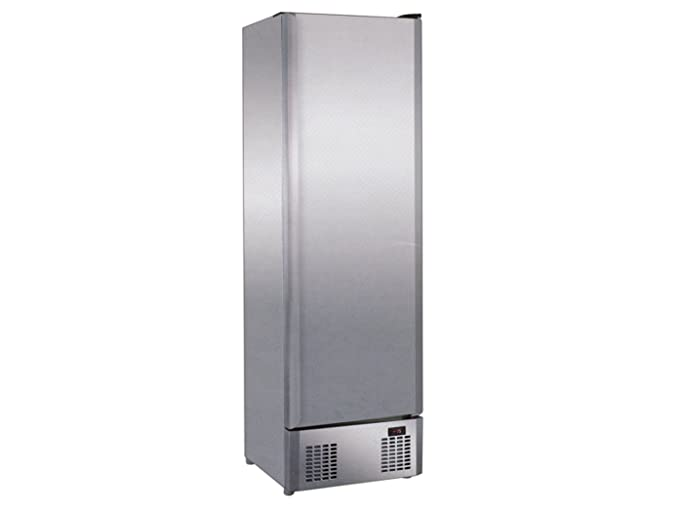 Profi Edelstahl Gefrierschrank, 330 Liter, statische Kühlung, Temperatur -18°C/-20°C, GGG LD-330S