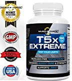 T5X Extreme | Testosterone Booster for Muscle Growth & Libido Enhancement | Multi-Ingredient