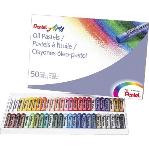 Pentel Arts Pastels Color PHN 50