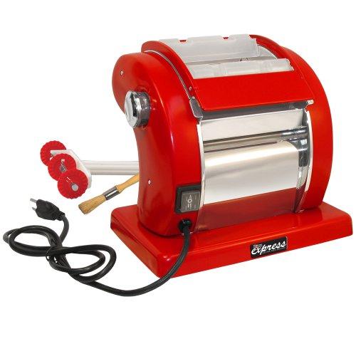 Weston Electric Pasta Machine, Red (Pasta Machine Electric compare prices)