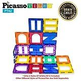 magnet building kits - PicassoTiles¨ PT42 Designer Artistry Kit 42pcs Set Magnet Building Tiles Clear Color Magnetic 3D Building Block - Creativity Beyond Imagination! Educational, Inspirational, Conventional, Recreational