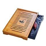 Solid Wood Tea Tray Tea Set Chinese Kung Fu Tea Set-#08