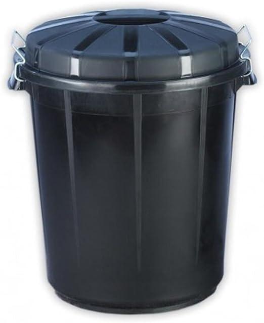 Jardin202 – Cubo de plástico para basura de la comunidad: Amazon.es: Jardín