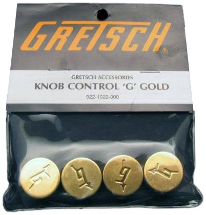 Gretsch Gold Guitar Knobs - Set of 4