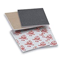 "Klingspor Ultraflex Sand Pad 220 Ultraflex Sanding Pads 4.5"" x 5.5"" A/O - 220 Grit, Box of 10"