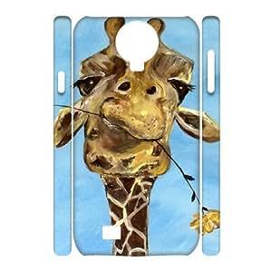 Giraffe Customized 3D Cover Case for SamSung Galaxy S4 I9500,custom phone case ygtg561461