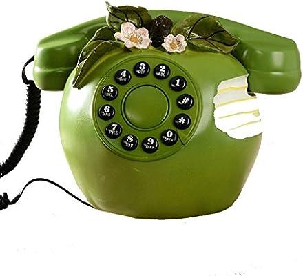 Teléfono estilo falso de la resina de la moda moderna, mesa de ...