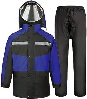 HGCX WY Traje Impermeable, Adulto al Aire Libre, Viaje, Motocicleta, equitación, Impermeables, Impermeable, Equipo al Aire Libre
