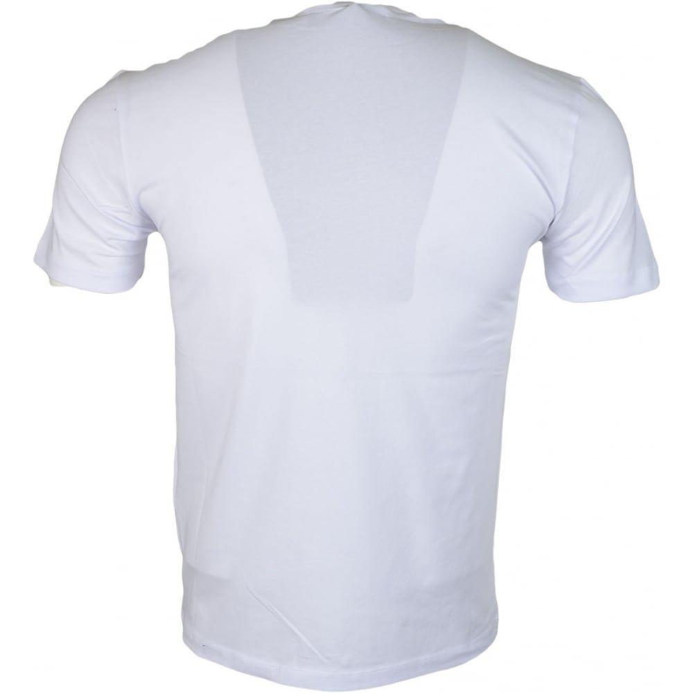 MOSCHINO M473182E1811 Love Slim Fit White T-Shirt S White by MOSCHINO (Image #2)