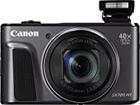 Canon PowerShot SX720 HS 24mm WIDE 40x Zoom Point & Shoot Digital Camera (WiFi Enabled, NFC Enabled) + Prime Seller Microfiber Cloth by Prime Seller