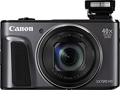 Canon PowerShot SX720 HS 24mm WIDE 40x Zoom Point & Shoot Digital Camera (WiFi Enabled, NFC Enabled) + Prime Seller Microfiber Cloth from Prime Seller