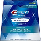 Crest 3D White Whitestrips 1 Hour Express Teeth Whitening Kit, 7 Treatments