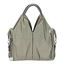 Lassig Green Label Neckline Diaper Bag, One Size,Spin Dye Gold Melange