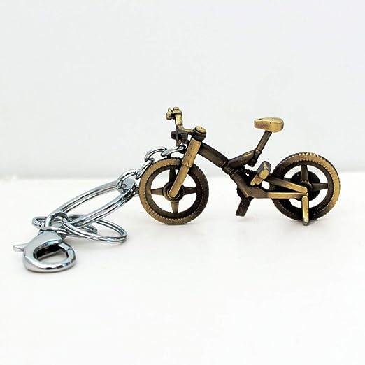 YQCZ Llavero Mujeres Calientes Vintage Linda Forma de Bicicleta ...