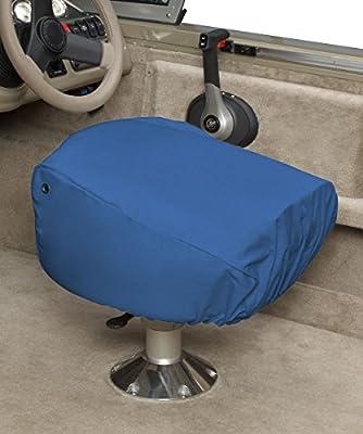 Enjoyable Budge Single Boat Seat Cover Fits A Single Boat Seat 22 Long X 19 Wide X 21 High Ba 10 Blue Beatyapartments Chair Design Images Beatyapartmentscom
