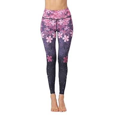 Kanggest.Mujer Pantalones Yoga Baile Pantalones Slim Sexy ...