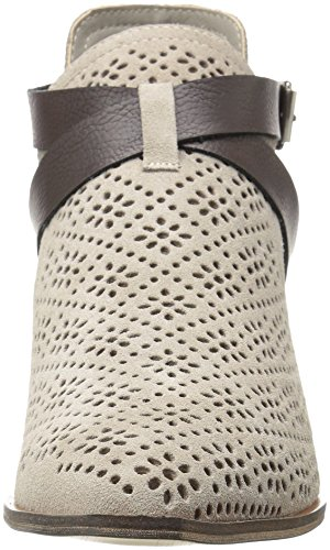 Chinese Laundry Women's Sydney Ankle Bootie, Black Cool Taupe Suede