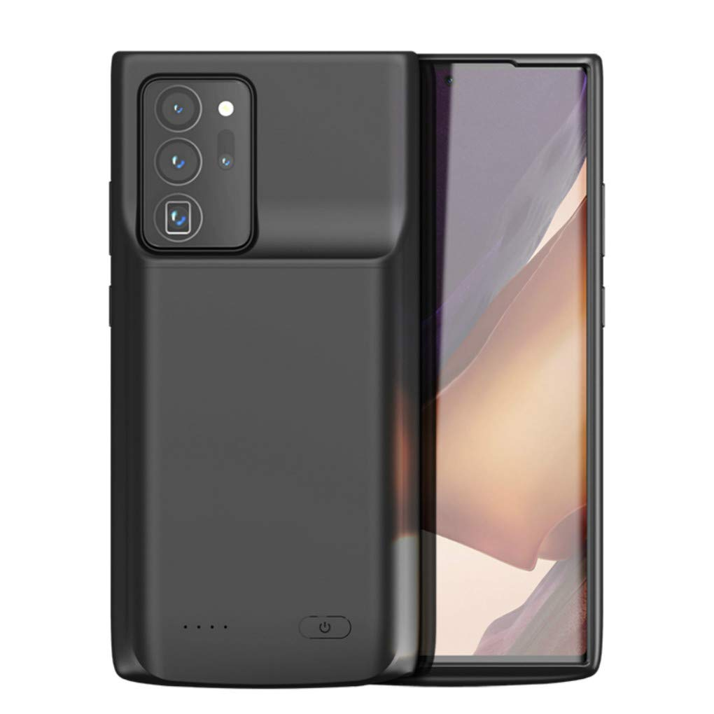 Galaxy Note 20 Ultra Battery Case, Fey 6000mAh Rechargeable Extended External Backup Battery Charger Power Case for Samsung Galaxy Note 20 Ultra 5G | Note 20 Ultra Charging Case