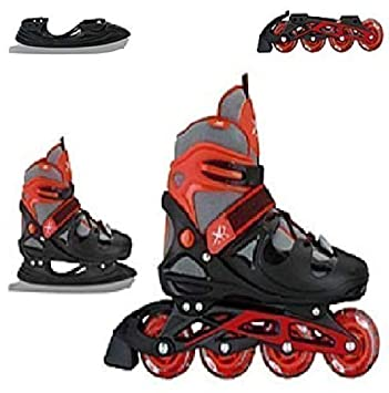 XQ MAX SKATING SKATES INLINE ICE ROLLER BOOTS BOYS uXiTPkZO