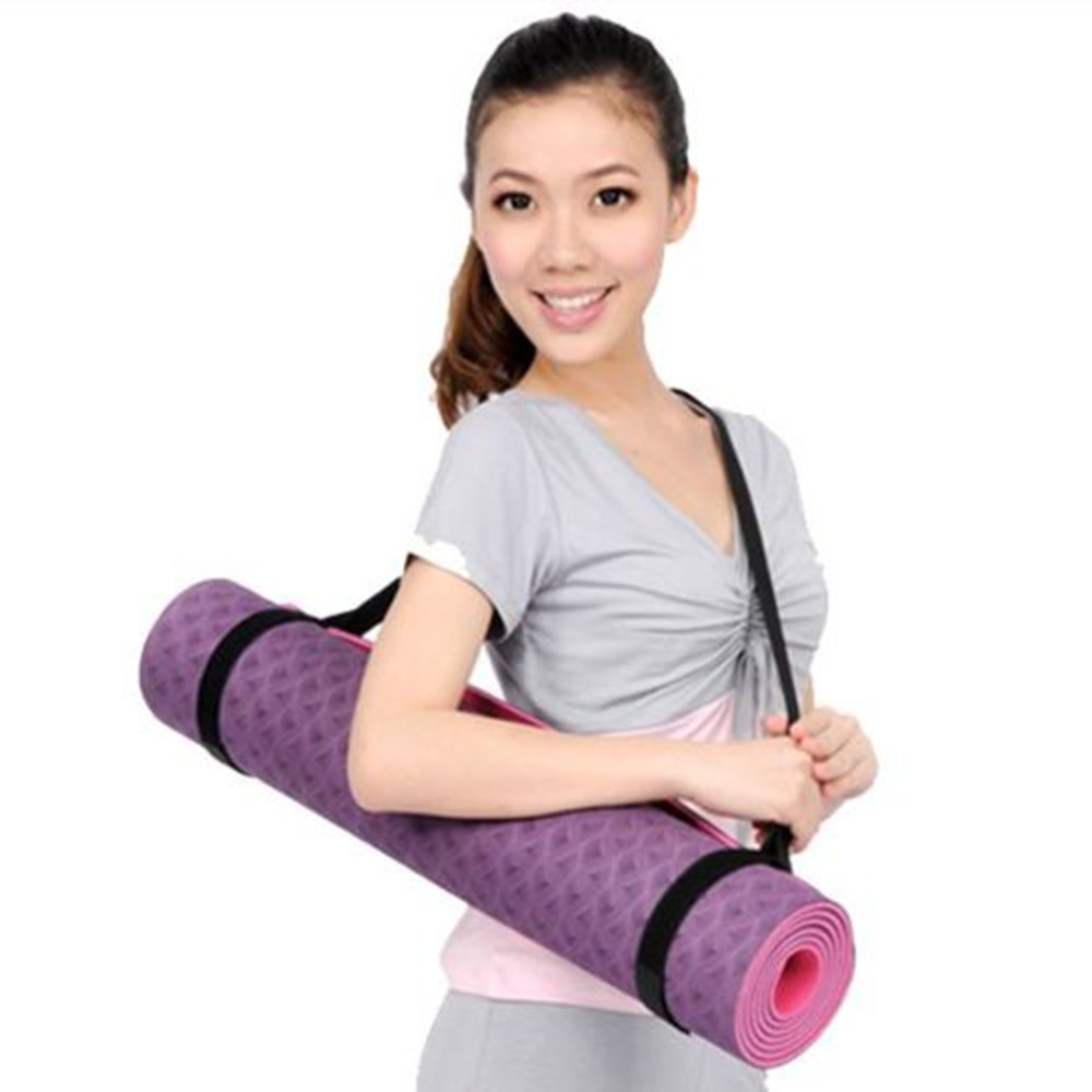 Yoga Mat Carrying Strap for $1...