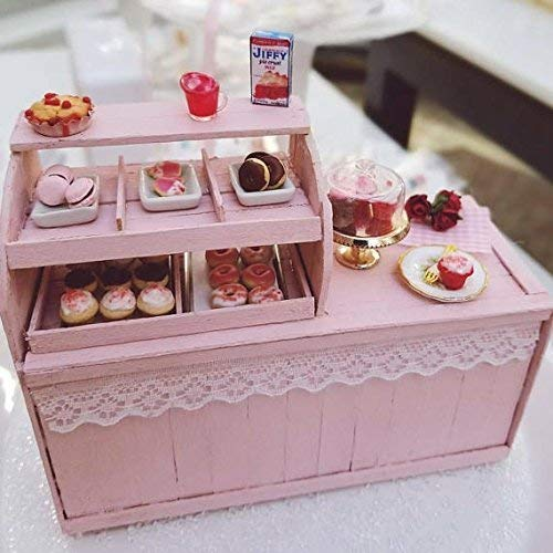 1:12 Scale Deluxe Shabby Chic Bakery With Scented bakery Treats