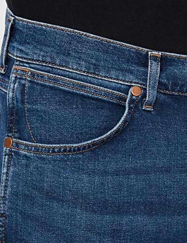 Wrangler Męskie dżinsy Slider Tapered Fit: Odzież
