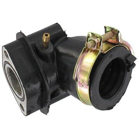KOK AGM Xfight-Parts Ansaugstutzen mit Schelle und O-Ring GMX 450 One 17mm 4Takt 50ccm 139QMA//QMB Jonway