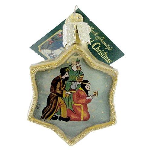 Wisemen Glass Ornaments - Old World Christmas WISEMEN Glass Ornament Inside Out Art 99702