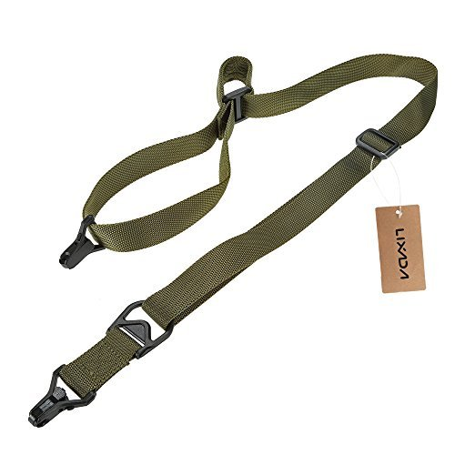 (Docooler Military Tactical Safety Two Points Outdoor Belt Carbine Sling Adjustable Strap)