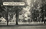 Tapping Reeve House and Law School Litchfield, Connecticut Original Vintage Postcard