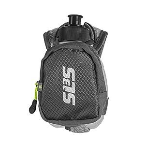 "SLS3 10oz Hydroquick Handheld ""Bare Minimum"" Water Bottle, Zippered Pocket"