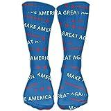 Men Women Make America Great Again Pattern Novelty Sport Stocking Socks Athletic High