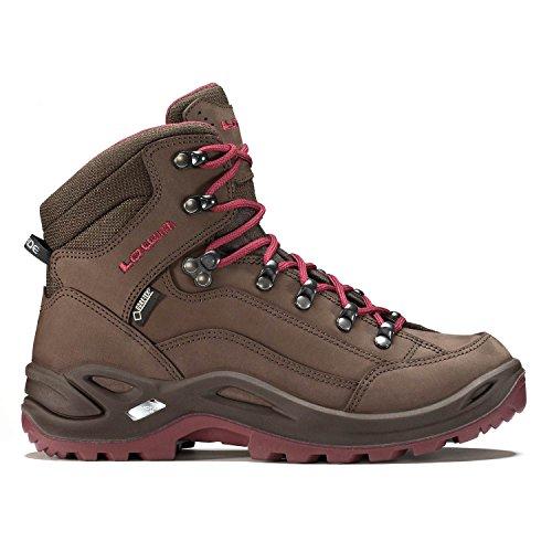 LOWA RENAGADE GTX MID Ws 320945/9768 Unisex-adult Hiking Boot Espresso Berry jSzfkKZr