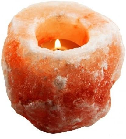 home, kitchen, home décor, candles, holders, candleholders,  tea light holders 4 picture HemingWeigh Himalayan Natural Crystal Salt Rock Tea Light promotion