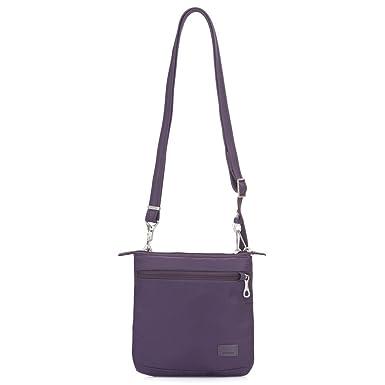 2483a6b69ad9 PacSafe Women s Citysafe Cs50 Anti-Theft Crossbody Purse-Mulberry Travel  Cross-Body Bag