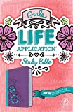 img - for Girls Life Application Study Bible NLT, TuTone book / textbook / text book